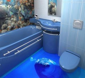 устройствотёплого пола в ванной