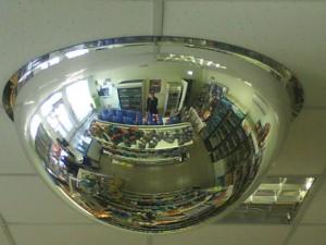 обзорные зеркала для противокражных систем в магазин